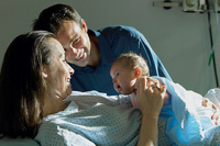 Подготовка беременных к родам в роддоме, дома, на специализированных курсах